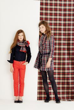 Looks for the whole family great for winter #moda #infantil #kids #fashion