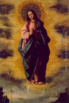 Francisco De Zurbaran : Immaculate Conception