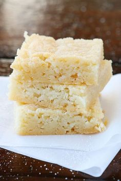 Dutch Butter Cake. Only 4 ingredients, and everyone always raves over it!!