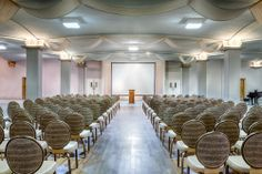 Stambaugh Auditorium Youngstown, Ohio Grand Ballroom set for presentation