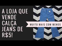A loja de fábrica que vende jeans por R$5! - YouTube