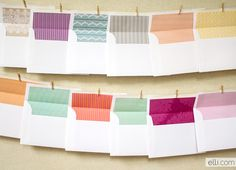 Free Printable Envelope Liner Round-up
