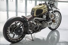 The custom bike scene is full of builders pumping out café racers, trackers, bobbers, scramblers and just about anything imaginable. Yet Chris Canterbury, founder and owner of Boxer Metal in Calif…