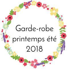 Mes projets de couture pour le printemps et l'été 2018