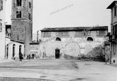 Ascoli com'era: chiesa di Santa Maria Intervineas prima dei lavori di recupero