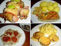 Lilek baklažán – recepty. • Současné lilky už nejsou hořké. • Vaření vmalé domácnosti – vaření zlilku. •Zapečený lilek. Lilek snádivkou: za málo peněz Easy Dinner Recipes, Meat, Chicken, Ethnic Recipes, Easy Dinner Recipies, Easy Dinner Party Recipes, Cubs
