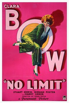 US one sheet for NO LIMIT (Frank Tuttle, USA, 1931)