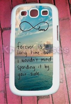Samsung Galaxy S3 Case, Cute Forever love - infinity Galaxy S3 Cover, Samsung Galaxy S3 Cases, Galaxy S3 Case:Amazon:Cell Phones & Accessories