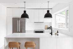 Welcome to Robyn & Sam's warm minimalist home.
