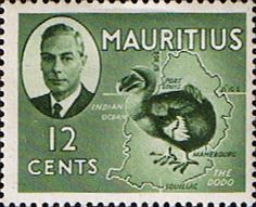 Mauritius 1950 SG 282 The Dodo Fine Mint Scott 241 Other Mauritius Stamps HERE