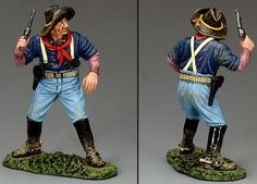 Custer's Last Stand TRW081 The Lone Trooper - Made by King and Country Military Miniatures and Models. Factory made, hand assembled, painted and boxed in a padded decorative box. Excellent gift for the enthusiast.