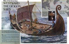 Vikings sail to America