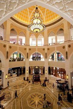 Dubai, United Arab Emirates. Lavish, but beautiful. It was refreshing to see such refined design after life in Thailand. #dubai #uae