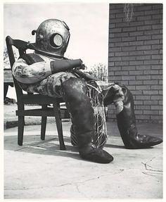 Walker Evans, Sponge-Diver's Suit, Florida, 1941