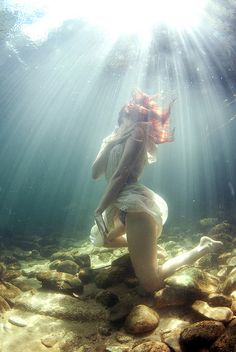 Underwater photography.