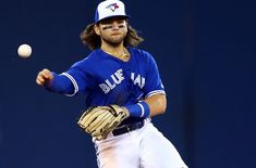 Blue Jays: Why was Bo Bichette allowed to stay in the game? Short Conversation, Fantasy Baseball, Contact Sport, Sports Figures, Toronto Blue Jays, Sports Baseball, Sport Photography, Baltimore Orioles, Good News