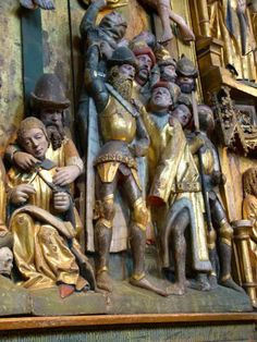 Lübeck, altarpiece, c. 1468 http://forums.armourarchive.org/phpBB3/download/file.php?id=58804