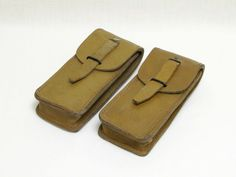 Ammunition bags Leather Ammo Bags French by LittleFrenchOwl