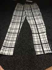 Womans Trouser Square Checked Diffuse