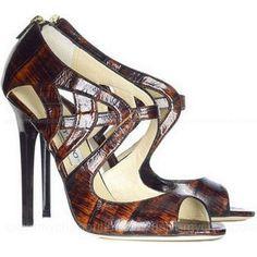 Jimmy Choo Prosper Leather Sandals - Janet shoes