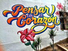Mural in Barranco, Lima
