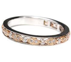 Beautiful. Not Engagement, but I believe this would be the perfect life long symbol of mine and Matty's love. Sigh. Wedding ring perfection.     Eternity Band of Diamonds Rose Gold