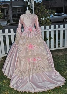 Phantom of the Opera Marie Antoinette Style Bustle Gown