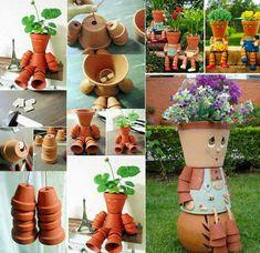 Decorazioni da Giardino con Vasi di Terracotta   MondoDesign.it