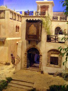álbumes de fotos Fachada Colonial, Ancient Egypt Art, Medieval Houses, Christmas Nativity, Escape Room, Sculpture Art, Portal, Miniatures, Fantasy