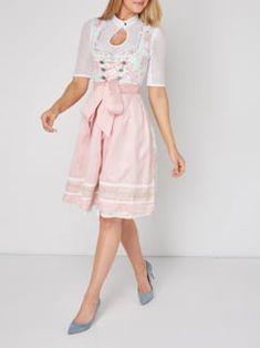 Luxuar Dirndl mit floralem Muster in Rosé - 1 Pastel Colors, Colours, Shops, Romantic, Summer Dresses, Casual, Pattern, Style, Fashion