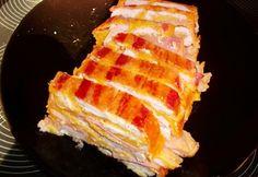Csirketorta ahogy Babuci készíti Waffles, Bacon, Breakfast, Food, Morning Coffee, Essen, Waffle, Meals, Yemek