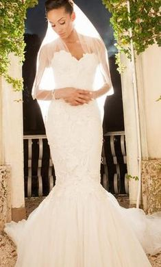 Mark Zunino 8: buy this dress for a fraction of the salon price on PreOwnedWeddingDresses.com#wedding#mybigday