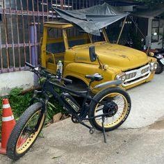 "Buzzy Bee Bike Fatbike E-bike's Instagram profile post: ""Mellow yellow"""