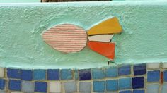 Un mar de Juegos Mosaico mural. Jardín de infantes integral n 1 Alfredo Palacios.