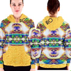 IRO signature hoodie ImaniRae Originals Spring and Summer 2017 designs sizes XS to XXXL and tall! Leggings and hoodies and tunics, Oh yeah. Custom made to order. Shine on, kings and Queens✨ imaniraeoriginals@gmail.com for more info.