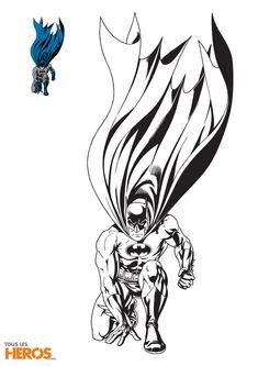 Découvrez les 5 coloriages Batman de Tous-les-Héros dans cet article, et coloriez votre super-héros en pleine mission !