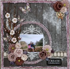 Create Memories **Swirlydoos** - Scrapbook.com Kaisercraft - Art of Life Collection