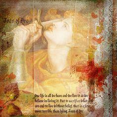 Joan of Arc Catholic Quotes, Catholic Art, Catholic Saints, Patron Saints, Joan D Arc, Saint Joan Of Arc, St Joan, Warrior Spirit, Word Of Faith