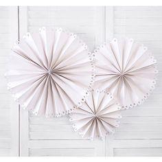 Rosetter i beige - Pynt til vægge og lofter i beige - Party Mood Neutral Wedding Colors, Team Bride, Hand Fan, Home Appliances, Party, Palette, Products, Ceremony Decorations, Ceiling Rose