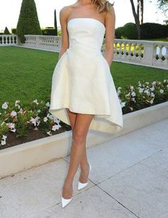 white on white - formal  Can I just have this look please??