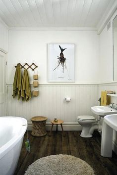 Bathroom with light from above: We will install solar tubes in our new upstairs bathroom to pull in natural lighting.