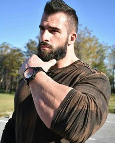 Awesome beards, beard styles for men, hair and beard styles, hot bearde Hairy Men, Bearded Men, Bart Styles, Beard Shampoo And Conditioner, Awesome Beards, Hommes Sexy, Beard Tattoo, Beard Care, Hair And Beard Styles