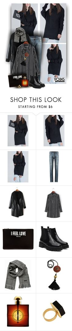 """Stylish for your with Yoins Fashion http://yoins.me/1PrM4be"" by christiana40 ❤ liked on Polyvore featuring Givenchy, Jack & Jones, Yves Saint Laurent, women's clothing, women's fashion, women, female, woman, misses and juniors"