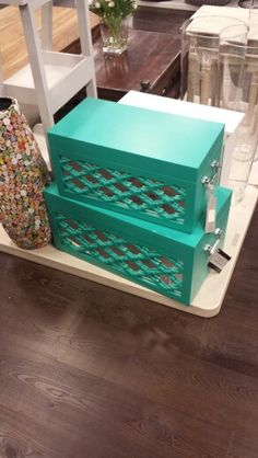 Love these storage boxes from tkmaxx
