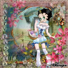 Celebrations gp challenge: Happy Easter with Betty Boop