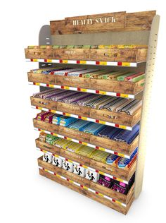 Travel Retail Healthy Snacks Stand #travelretail #concept