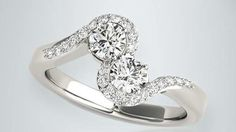 You imagine. We design. Check out Linara's Two-Stone Ring Collection.