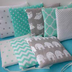 Купить Бортики в кроватку - комплект в кроватку, постельное белье, постельные принадлежности, подарок новорожденному