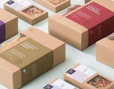 Sur La Table Terracotta on Behance Kraft Box Packaging, Baking Packaging, Dessert Packaging, Packaging Stickers, Craft Packaging, Cookie Packaging, Tea Packaging, Food Packaging Design, Packaging Design Inspiration