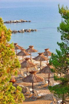 Kontokali beach/Corfu island/Greece